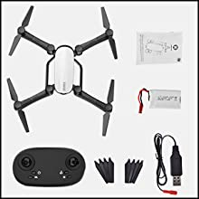 Flashandfocus.com b28a9ba0-b73a-4d0d-9959-915b2c668bbe.__CR0,0,300,300_PT0_SX220_V1___ SIMREX X900 Drone Optical Flow Positioning RC Quadcopter with 1080P HD Camera, Altitude Hold Headless Mode, Foldable FPV…