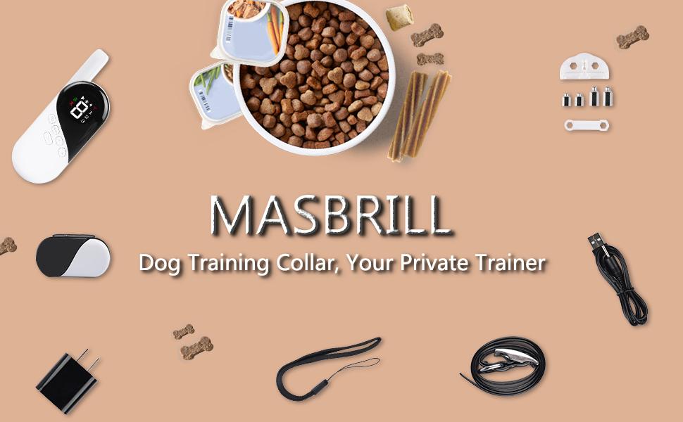 MASBRILL dog training collar