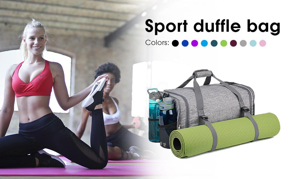 sports duffle bag