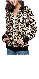 leopard print coat jacket