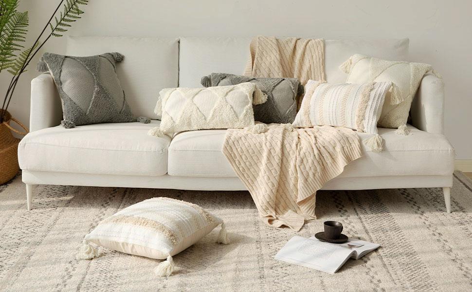 lumbar pillow cover 12x20 pillow cover