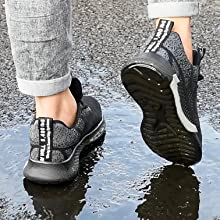 Steel Toe Trainers Lightweight Work Shoes