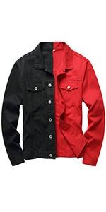 Jean jacket for men denim jacket mens jean jackets for men jean jacket patchwork jean jacket men