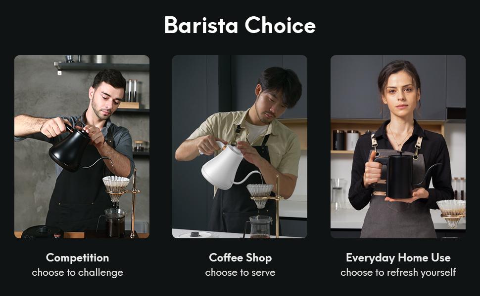 barista choice