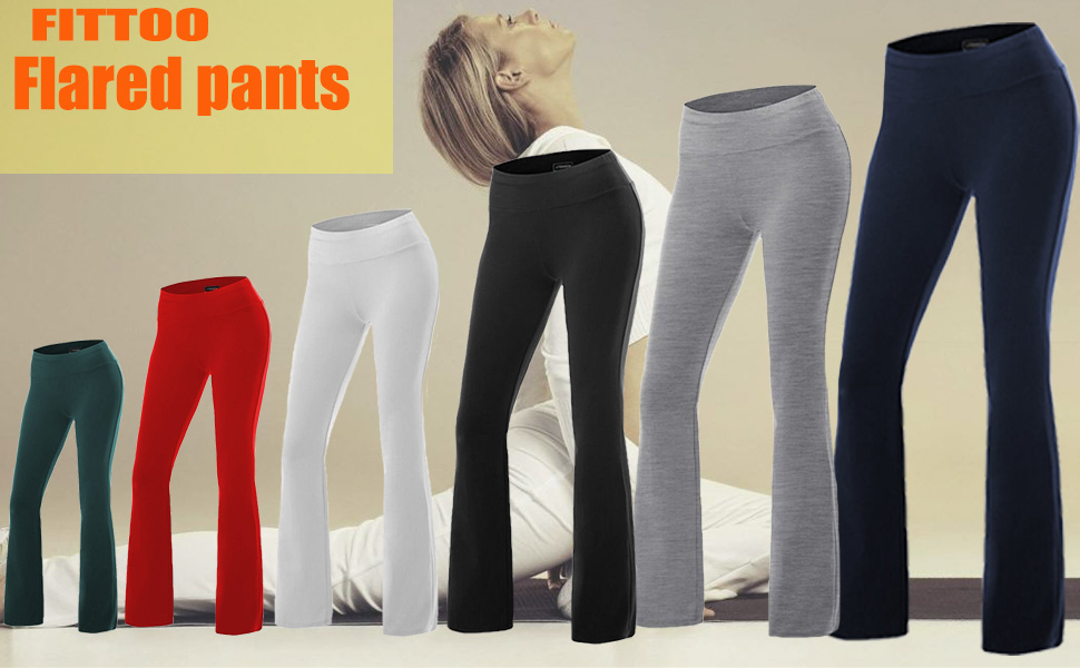 FITTOO FLARED PANTS
