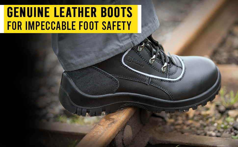 safety boots toecap comfortable warm best outdoor walking mens ankle boots