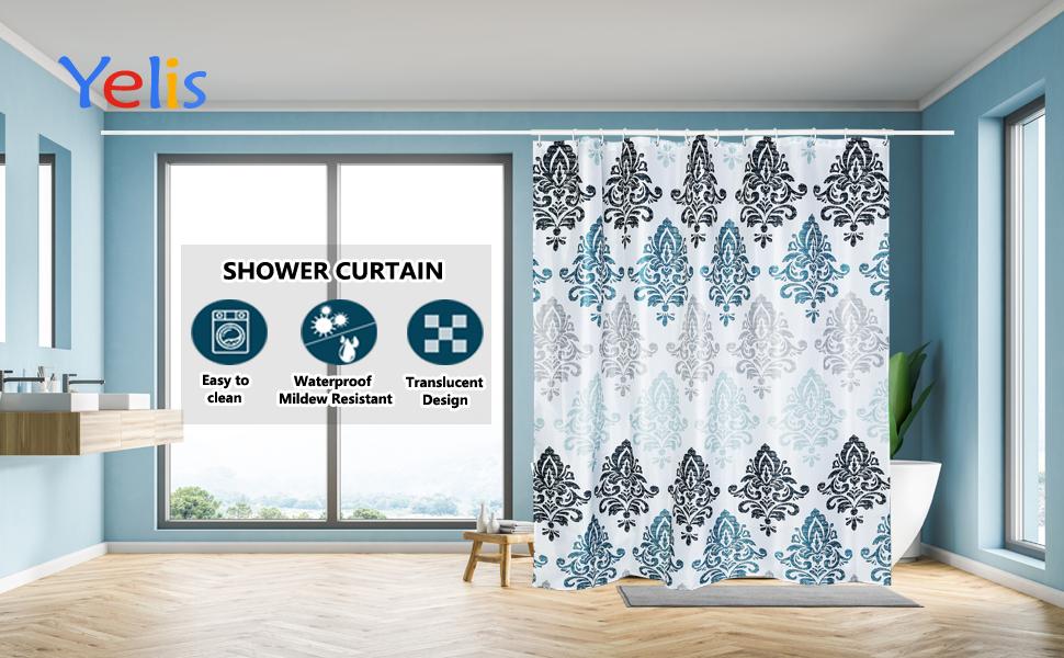 Yelis Shower Curtain