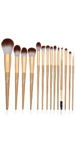 Blending makeup Brushes