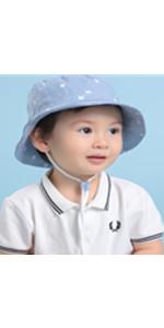 Cappello da Pescatore per Neonati Bambini 3 Mesi-6 Anni