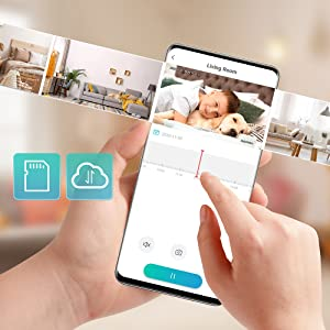 6__HeimVision Mate A1 Smart Security Camera_Replay_Local_Cloud Storages