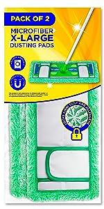 xl dust mop pads