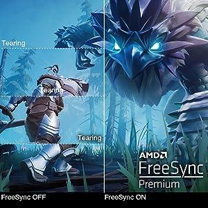 AMD Radeon Freesync Certified G-sync Compatible