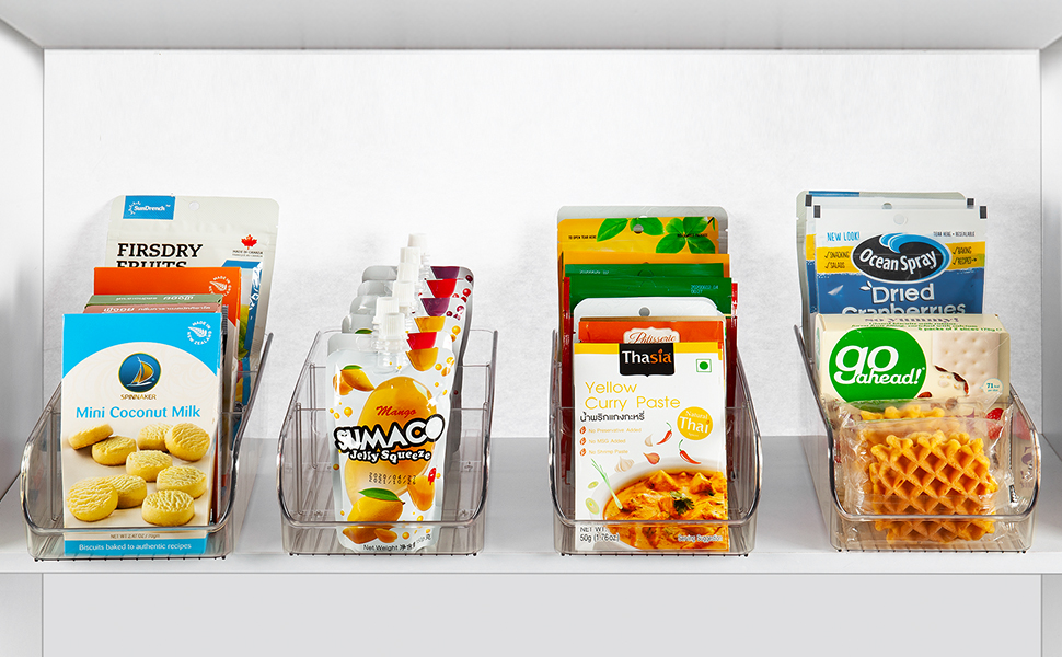 food packet organizer