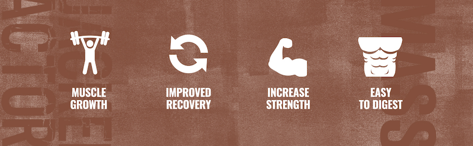 Boosts Muscle Growth, Improves Recovery, Increases Strength, and Digests Easily