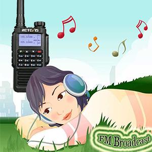 fm radio walkie talkies