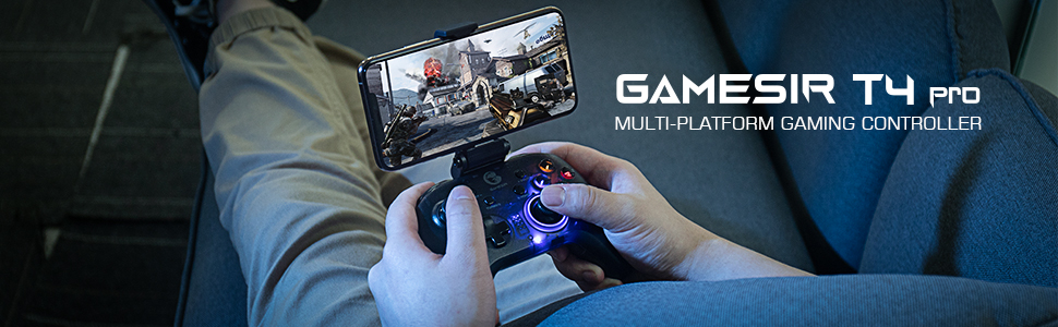 GameSir T4 pro PC iOS Switch Android Game Controller
