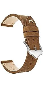 Cinturino vintage in pelle di vitello