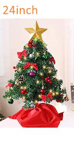 24 Inch Tabletop Christmas Tree
