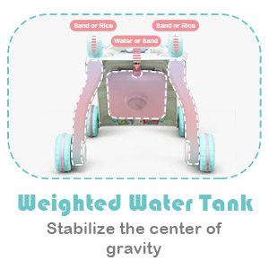 Weighted Water Tank