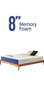 8 inch queen mattress twin mattress