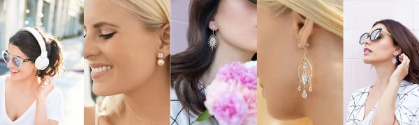 Chrysmela Catch The Most Secure Earring Back to Lock and Lift Earrings with Patented Technology