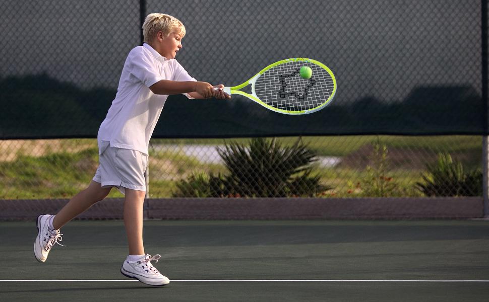 yellow racket