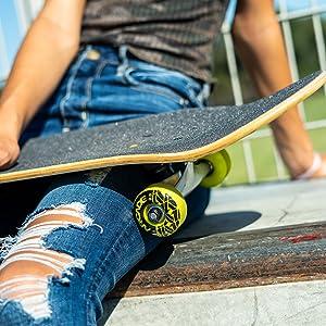Arcade skateboard deck