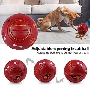 Dog Puzzle Feeder Ball Toy