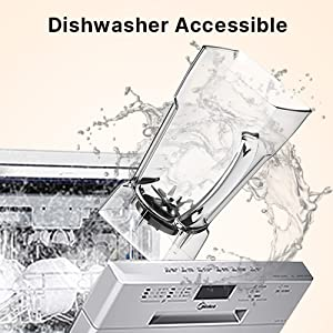 dishwasher safe automatic one-touch cleaning for lazy people waterproof for daily use commercial use
