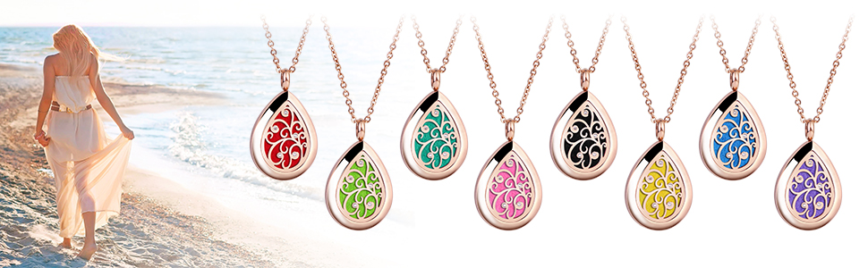 diffuser necklace for women
