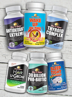 Rise N Shine Natural Supplements and vitamins for hair scalp hair vitamins grey hair men natural pil