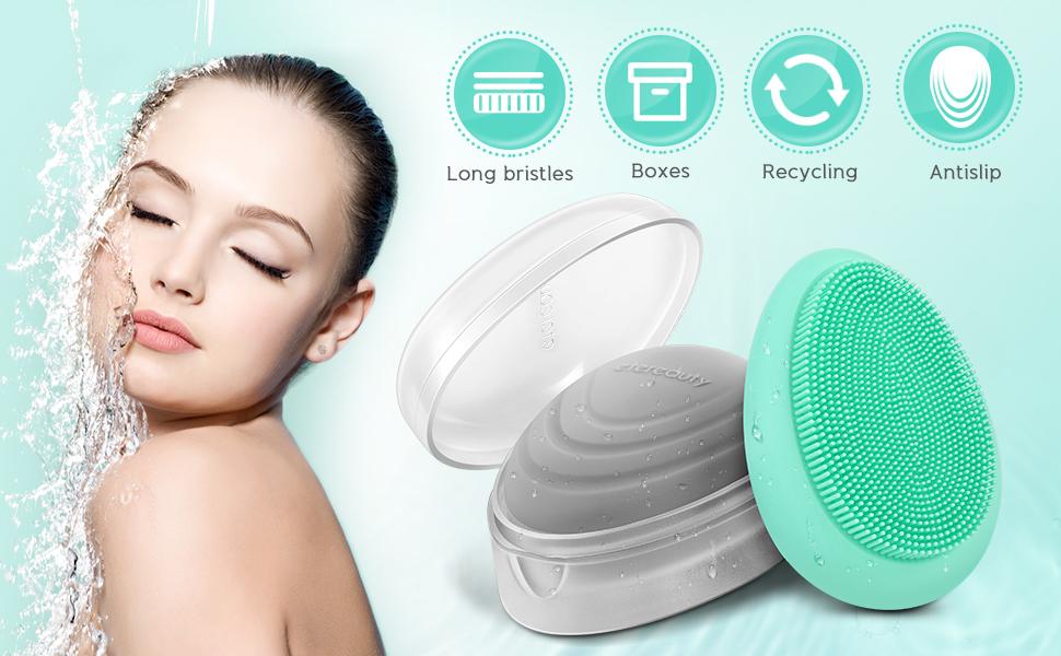silicone face scrubber