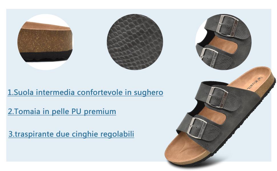 cork sandals for men