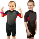 Shorty wet suit for girls and boys