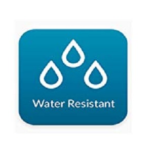 100% water resistant