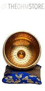 Small Batch Hand Hammered Tibetan Singing Bronze Bowl - 5 inch