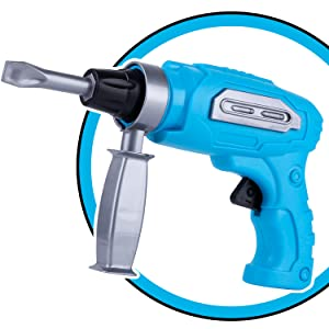 electric drill with rechageable bits