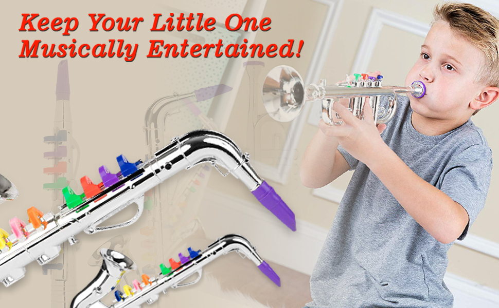 Trumpet set will give your kids hours of fun