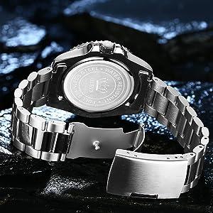 olevs full stainless steel brand luxury watch