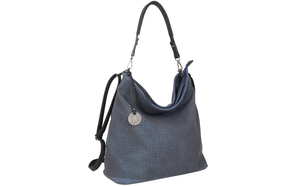 Damen Schultertasche schwarze Umhängetasche von Jennifer Jones