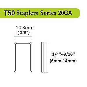 T50 Series Staples