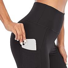 yoga capris with pockets
