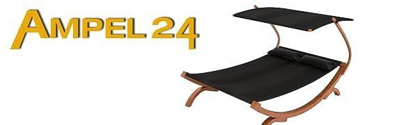 Ampel 24 Sedia Panama nero