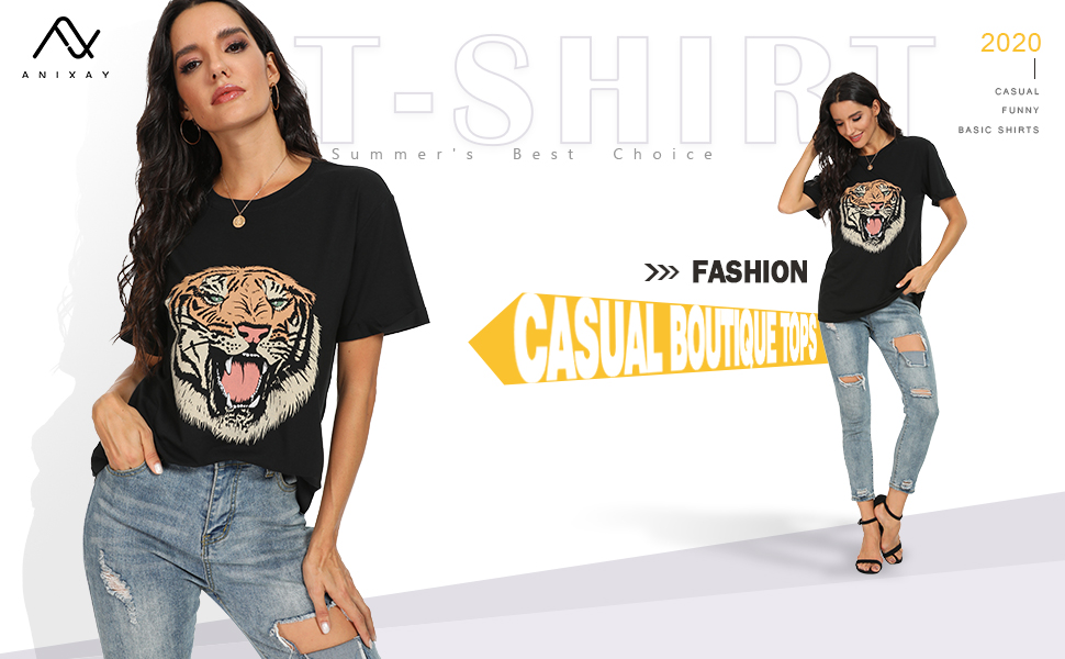 Basic Shirts Graphic Tee Boutique Tops