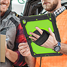 iPad 7th Generation Case with 360 rotating Hand Strap