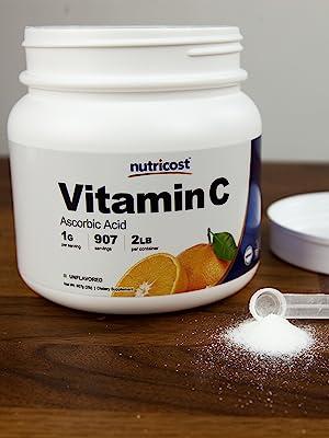 Nutricost Vitamin C 2 Lbs