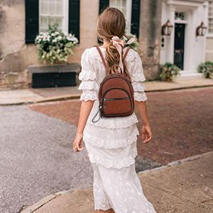mini backpack for women