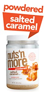Nuts N More Salted Caramel Peanut Protein Powder