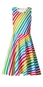 Colorful Stripe Dress