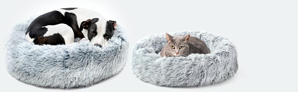 The Essential Dog + Cat Cuddler Bed